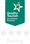 We are a Quality Tourism Accredited business